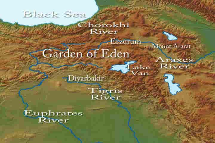 Was The Garden Of Eden Located In